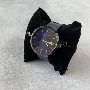 Ted Baker Jack Blue Leather Watch
